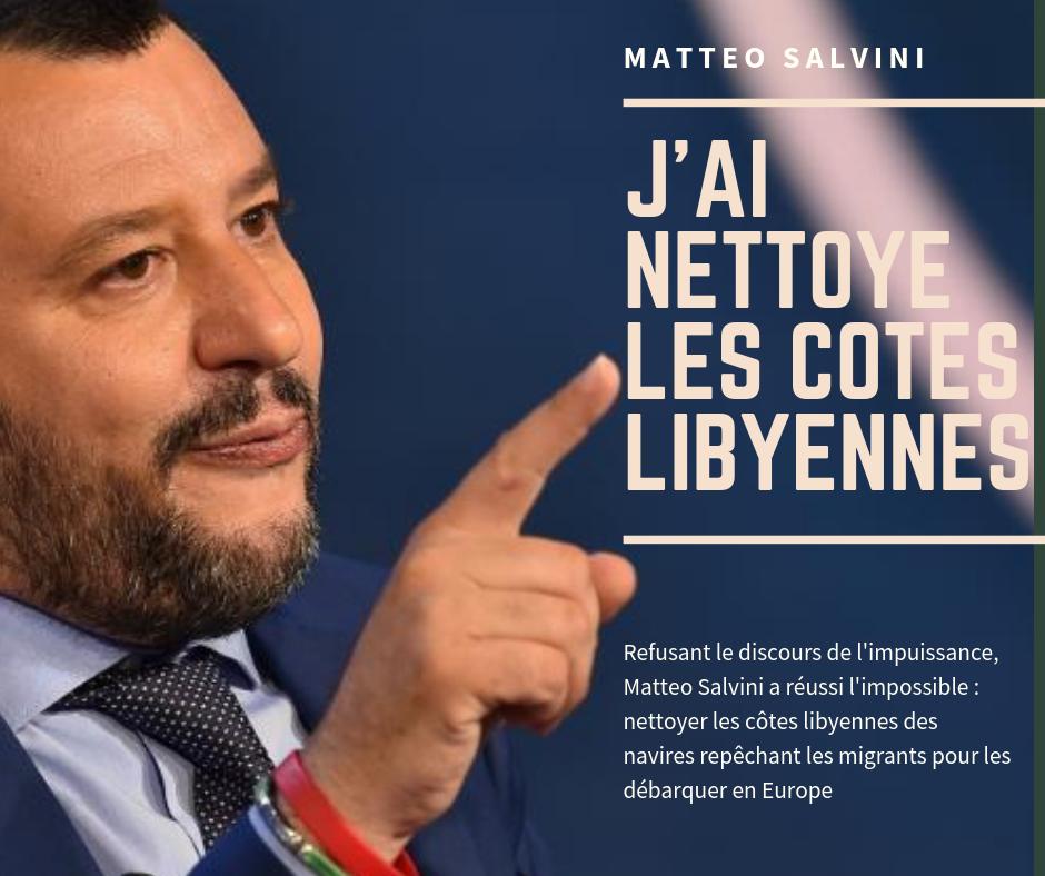 Salvini a chassé les ONG des côtes libyennes…