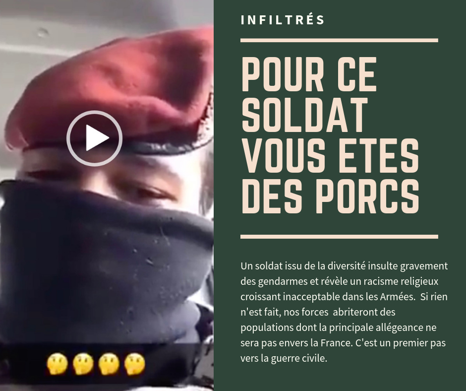 Un parachutiste insulte des gendarmes sur Snapchat…