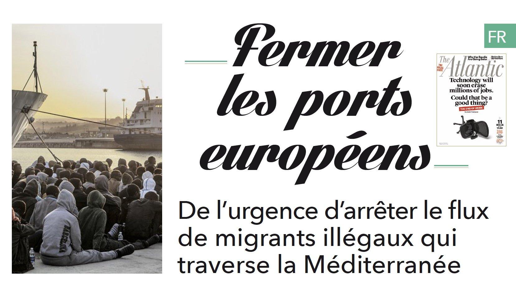 Voici un texte que la France rebelle a adressé à tous les parlementaires. Le plaidoyer d'un homme de gauche pour l'arrêt de l'immigration illégale.