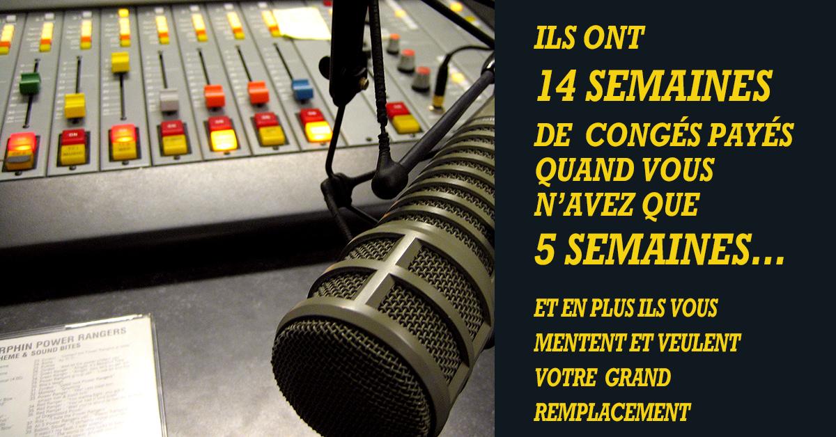 Les insupportables donneurs de leçons de morale de Radio France devraient se calmer un peu. La Cour des comptes vient d'épingler la radio publique pour ses mauvaises pratiques financières et pour ses coûts salariaux exorbitants qui sont payés par les impôts des Français.