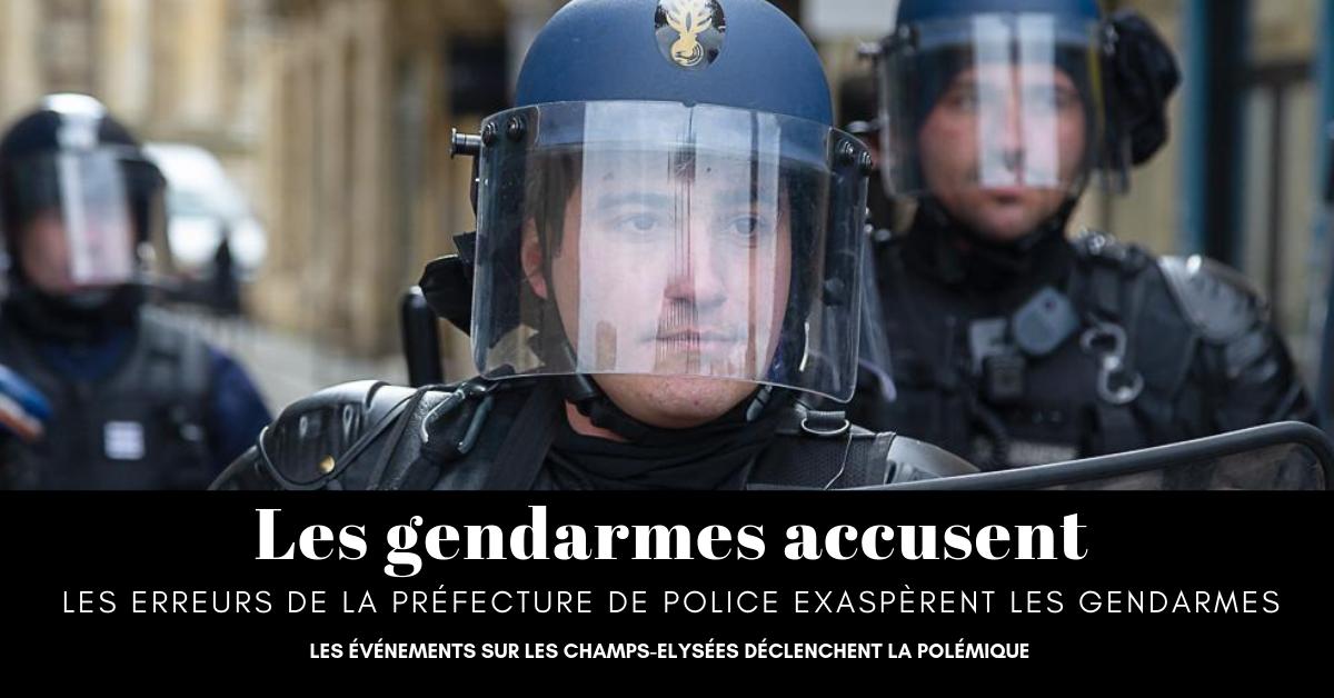 Les violences commises sur les Champs-Elysées par des bandes de casseurs gauchistes ont mis en lumière le manque de préparation de la Police pour faire face à cette guerre urbaine de basse intensité.