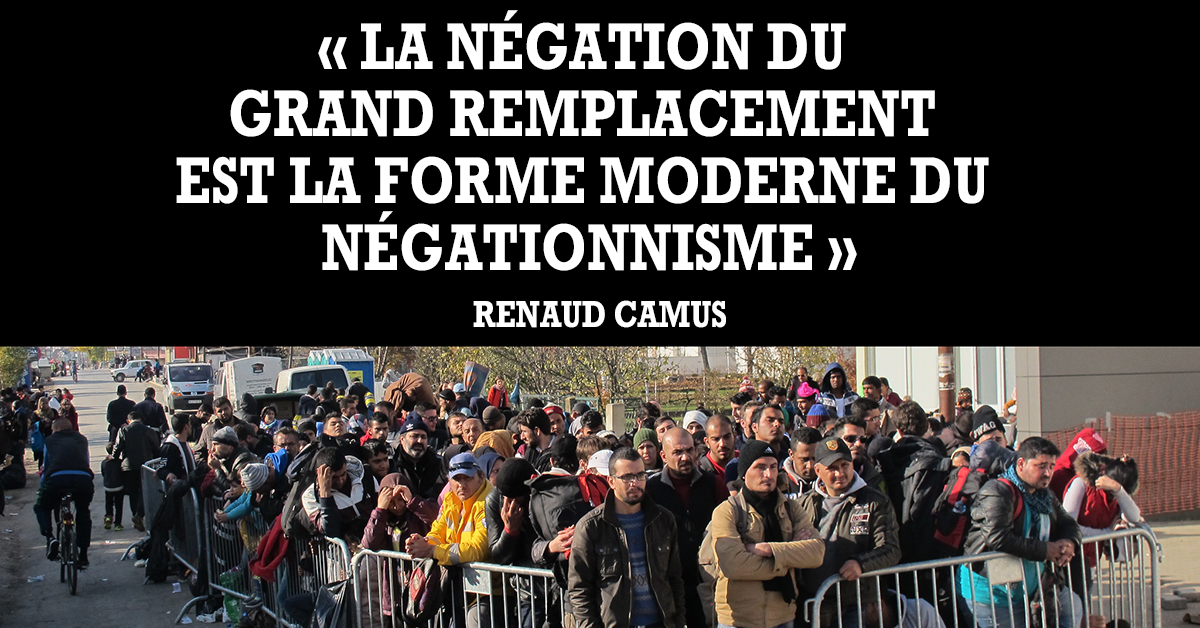 La notion de Grand Remplacement est partout dans le débat.  Les uns pour nier l'évidence, les autres pour avertir les Français des conséquences de l'immigration massive. Face à la polémique, Renaud Camus, inventeur de la formule s'explique enfin.