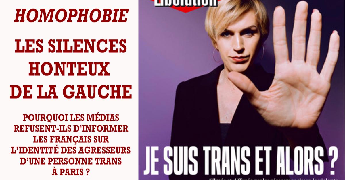 La gauche n'aime les méchants que lorsqu'ils hommes et blancs. Quand des « racisés » commettent des crimes c'est la course  des médias à l'occultation des faits pour ne pas « stigmatiser » et avouer que la société française devient invivable.