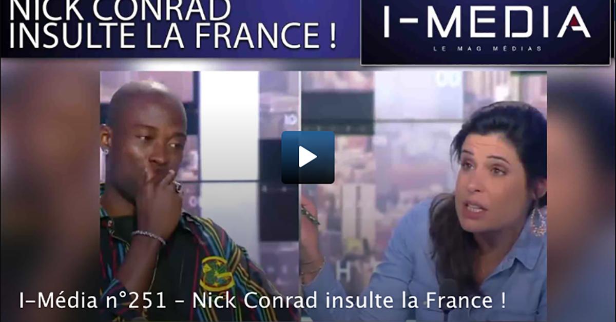 Le rappeur Nick Conrad insulte gravement la France et met en scène la haine des Blancs en simulant la mort d'une femme blanche dans l'indifférence des médias bienpensants.
