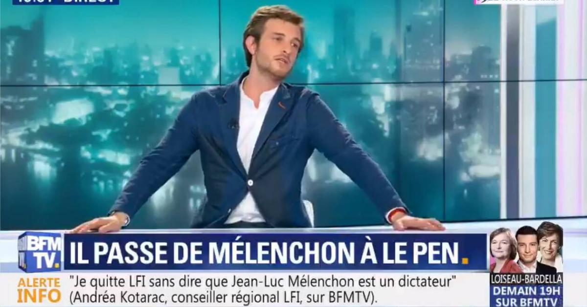 À 29 ans, Andréa Kotarac avait l'avenir devant lui. Conseiller régional LFI d'Auvergne-Rhône-Alpes, pressenti par certains pour succéder à Djordje Kuzmanovic auprès de Mélenchon, il était le dernier à défendre une ligne souverainiste au sein des Insoumis – qu'il quitte. Le populisme, c'est lui !