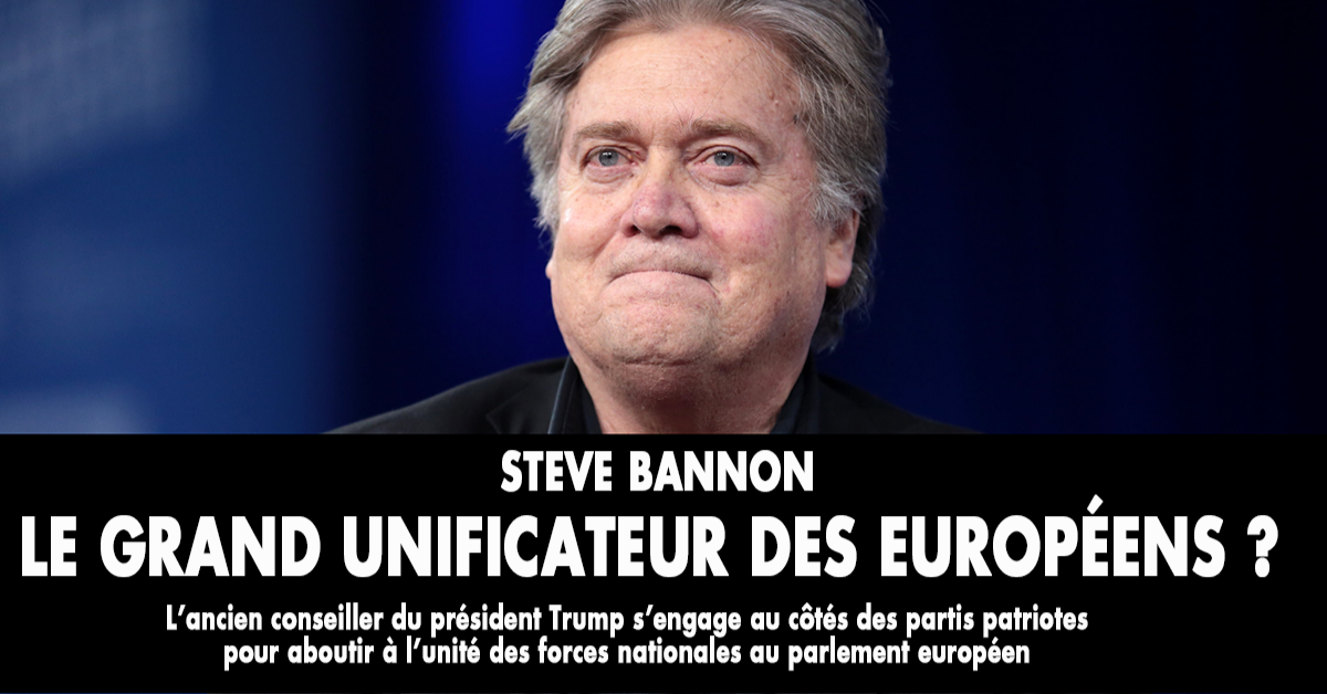 Pour les médias, Steve Bannon est le grand « diable blanc » qui fait trembler de peur les tenants du conformisme politique et intellectuel. Quel rôle cherche-t-il à jouer l'ancien conseiller de Donald Trump dans le paysage politique européen ?