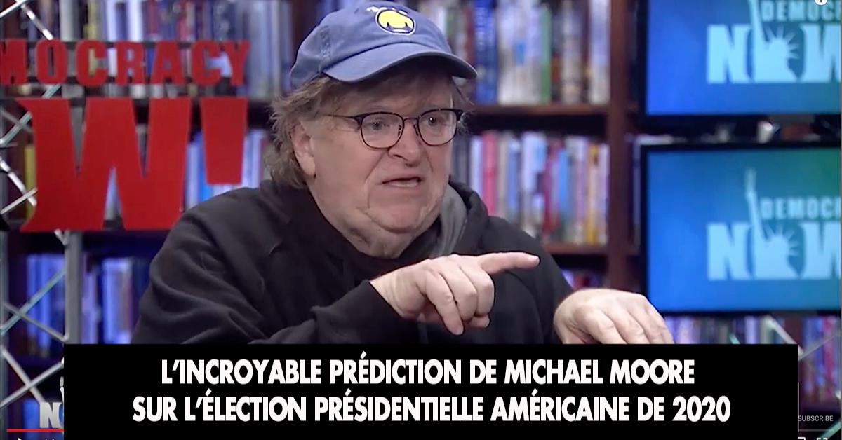 Le cinéaste de gauche Michael Moore, un des opposants les plus frénétiques au président Trump, a fait une étonnante prédiction sur les prochaines élections présidentielles américaines.