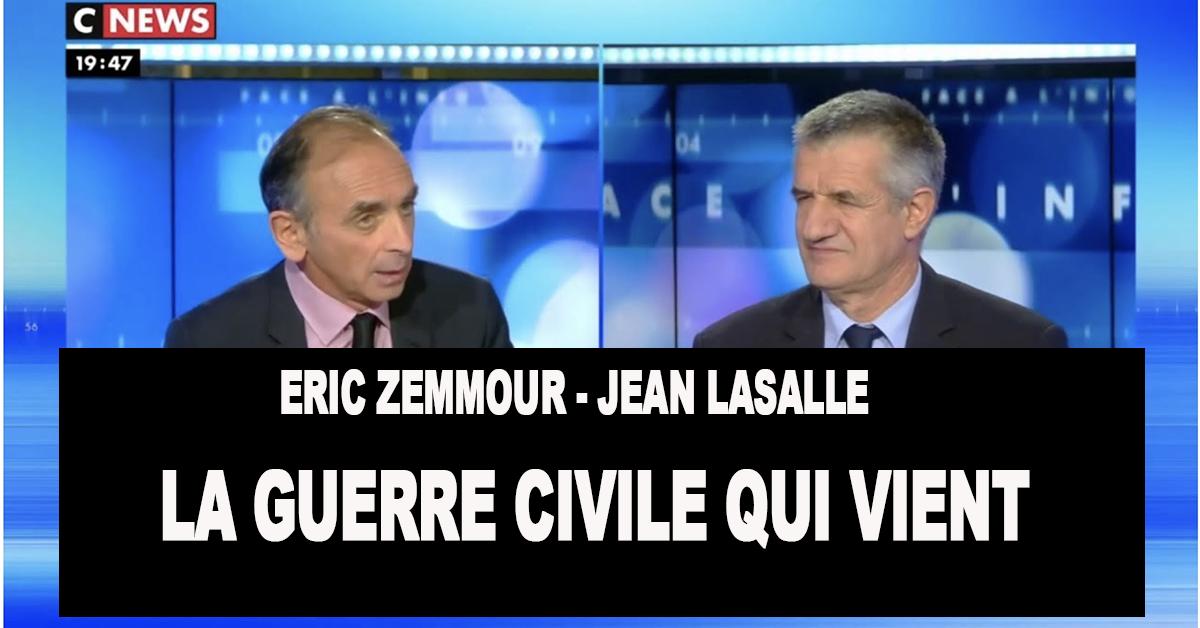Le retour de Syrie  des jihadistes coupeurs de têtes, la libération des terroristes détenus en France… Qu'allons-nous devenir ? L'angoissante question que se posent Eric Zemmour et Jean Lasalle.