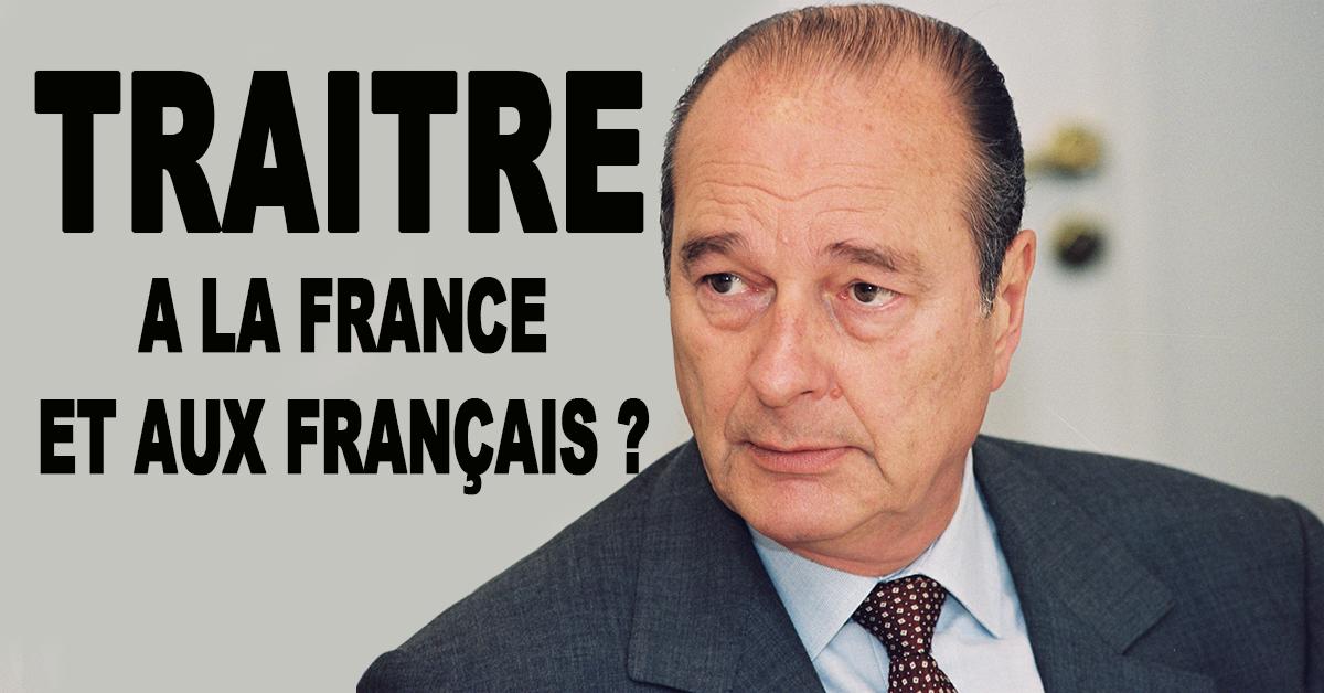 « Les traîtres sont ceux qui, depuis quarante ans et plus, ont abandonné la France aux minorités, aux communautés et à l'islam conquérant »
