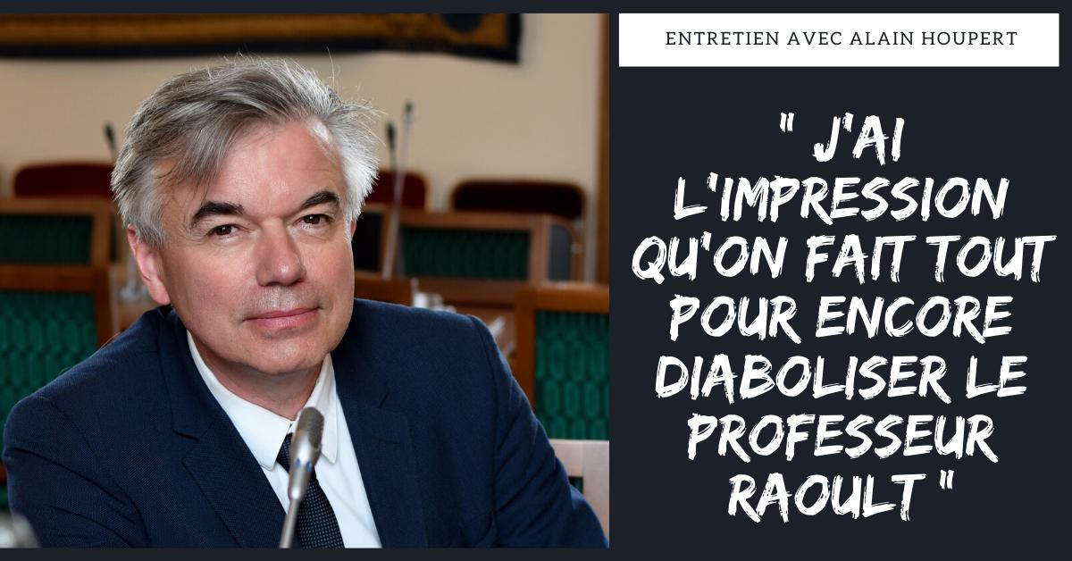 """""""J'ai l'impression qu'on fait tout pour diaboliser le professeur Raoult """", entretien avec le sénateur Alain Houpert"""