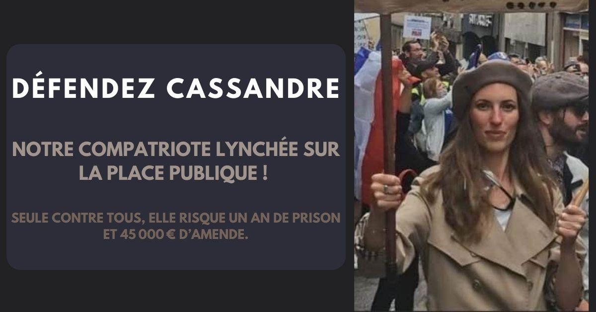 Lynchée sur la place publique, aidez-nous à défendre Cassandre, notre compatriote!